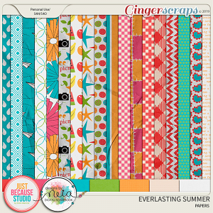 Everlasting Summer Papers by JB Studio and Designs by Neia