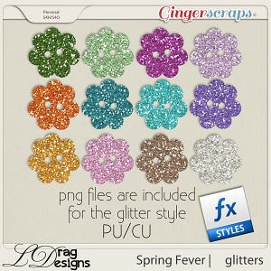 Spring Fever: Glitterstyles by LDragDesigns