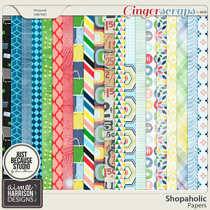 Shopaholic Paper Pack by Aimee Harrison and JB Studio