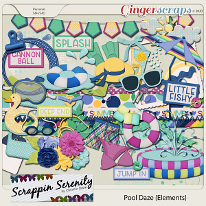 Pool Daze Elements