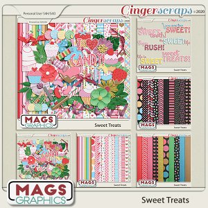 Sweet Treats BUNDLE by MagsGraphics
