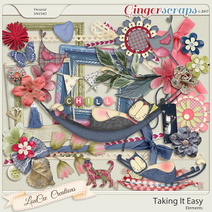 Taking It Easy Elements by LouCee Creations