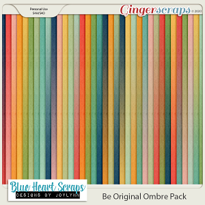 Be Original Ombre Paper Pack
