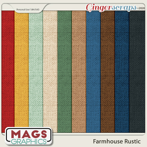 Farmhouse Rustic BURLAP PAPERS by MagsGraphics