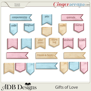 Gifts of Love Tabs