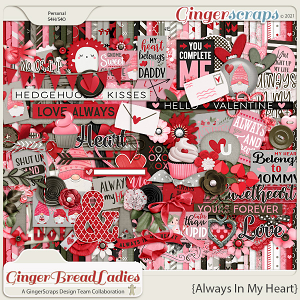 GingerBread Ladies Monthly Mix: Always In My Heart