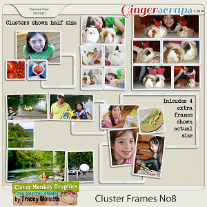 Cluster Frames No8 by Clever Monkey Graphics