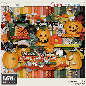 Carve It Up Page Kit by Aimee Harrison