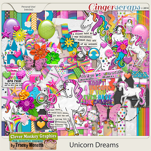 Unicorn Dreams by Clever Monkey Graphics
