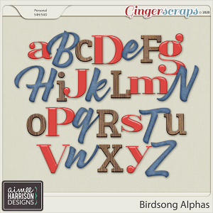 Birdsong Alpha Sets by Aimee Harrison