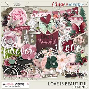 Love is Beautiful - Elements- by Neia Scraps