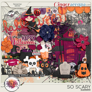So Scary - Elements - by Neia Scraps