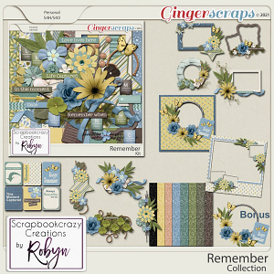 Remember Collection by Scrapbookcrazy Creations