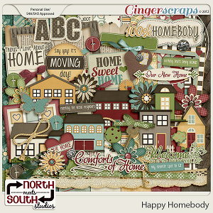 Happy Homebody Kit by North Meets South Studios