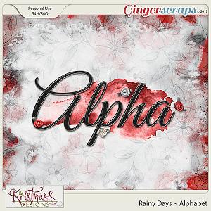 Rainy Days Alphabet