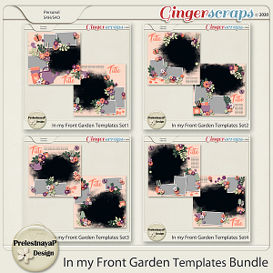In my Front Garden Templates Bundle
