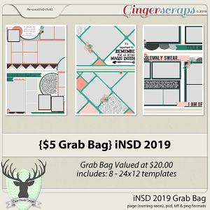 iNSD 2019 Grab Bag Templates by Dear Friends Designs