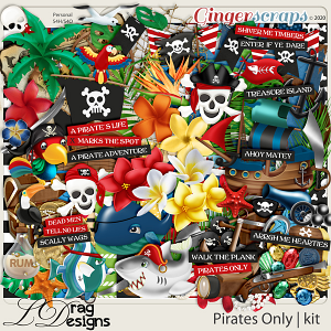 Pirates Only by LDragDesigns