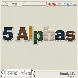 Simple Life - Alpha Pack AddOn by Connie Prince