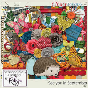 See you in September Kit by Scrapbookcrazy Creations
