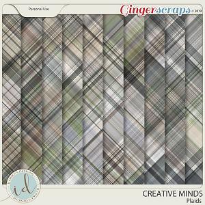 Creative Minds Plaids by Ilonka's Designs