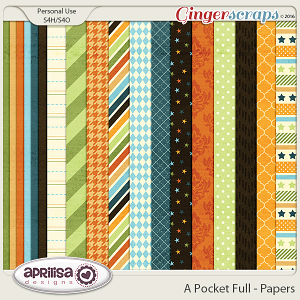 A Pocket Full - Papers by Aprilisa Designs