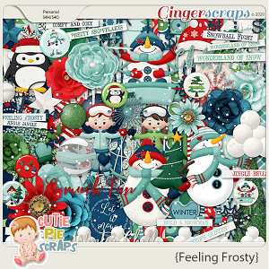 Feeling Frosty Page Kit