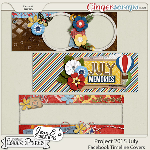 Project 2015 July - Facebook Timeline Covers