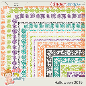 Halloween 2019-Page Borders