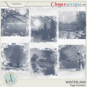 Winterland PageTransfers by Ilonka's Designs
