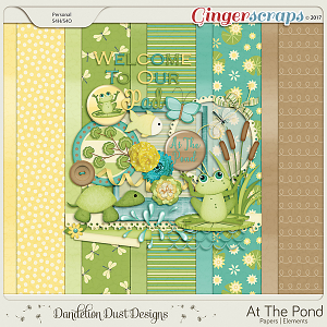 At The Pond Digital Scrapbook Kit By Dandelion Dust Designs
