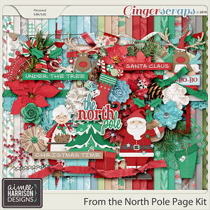 From the North Pole Page Kit by Aimee Harrison