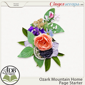 Ozark Mountain Home Cluster Gift 02 by ADB Designs
