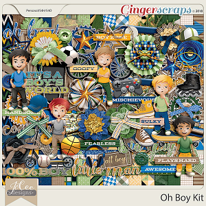 Oh Boy Kit by JoCee Designs