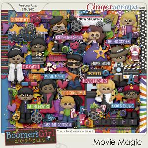 Movie Magic by BoomersGirl Designs