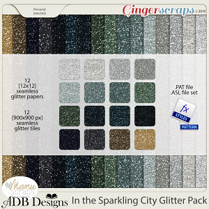 In The Sparkling City Glitter Pack by ADB Designs