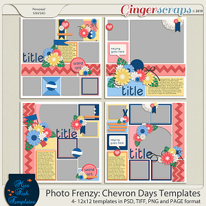 Photo Frenzy: Chevron Days Templates by Miss Fish