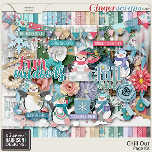 Chill Out Page Kit by Aimee Harrison