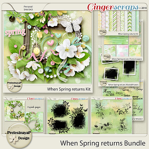 When Spring returns Bundle