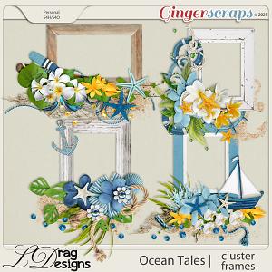 Ocean Tales: Cluster Frames by LDragDesigns