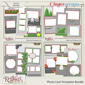 Photo Card Templates Bundle