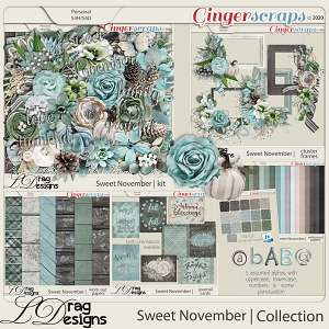 Sweet November: The Collection by LDragDesigns