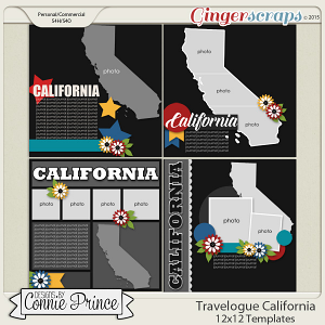 Travelogue California - 12x12 Temps (CU Ok)