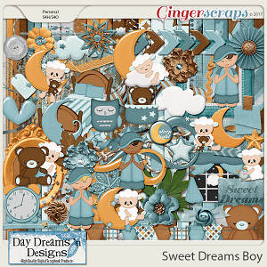 Sweet Dreams Boy {Kit} by Day Dreams 'n Designs