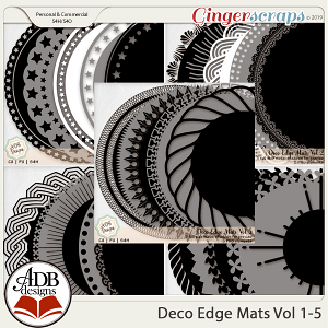 Deco Mats Bundle 01 - Vol 1-5 by ADB Designs