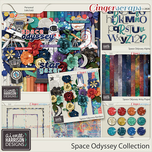 Space Odyssey Collection by Aimee Harrison