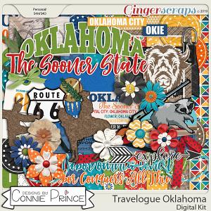 Travelogue Oklahoma - Kit by Connie Prince