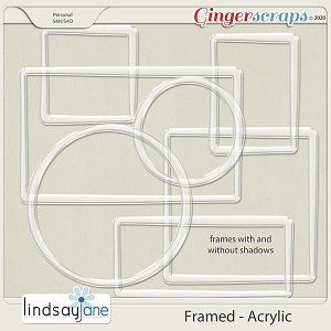 Framed Acrylic by Lindsay Jane