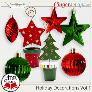 Holiday Decorations Vol 1 by ADB Designs