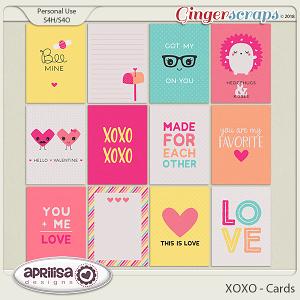XOXO - Cards
